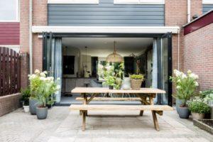 Raamdecoratie Openslaande Deuren : Kiest u voor een schuifpui of openslaande deuren? aanblik wormerveer