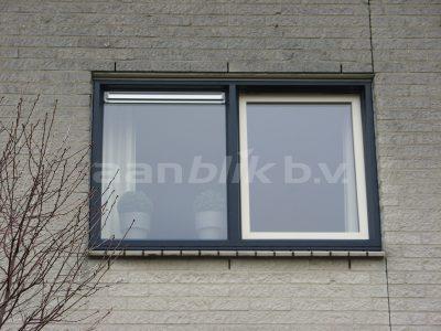 Aanblik Wormerveer - Kunststof kozijnen – Kunststof ramen met ventilatierooster