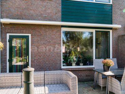 Aanblik Wormerveer - Kunststof kozijnen - Keralit gevelbekleding Kunststof achterdeur Koog aan de Zaan